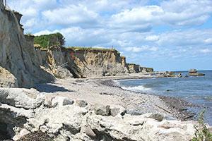 Steilküste auf Falster