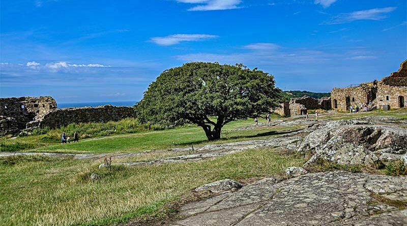 Urlaub auf Bornholm - Ruine Hammershus